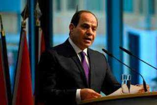 الرئيس السيسي: المشير طنطاوى برئ من أى دم وحمى البلاد من السقوط