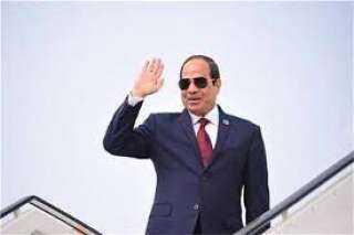 الرئيس السيسي يصل العاصمة اليونانية أثينا